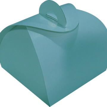 100 pçs Embalagem Bem Casado Azul Tiffany