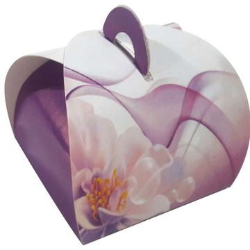 100 pçs Embalagem Bem Casado Floral
