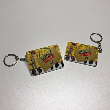 Chaveiro Toy Story impresso