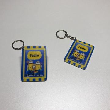 Chaveiro Minions impresso