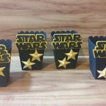 Caixinha para pipoca Star Wars