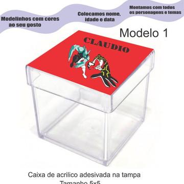 Caixa de acrílico-Ben 10