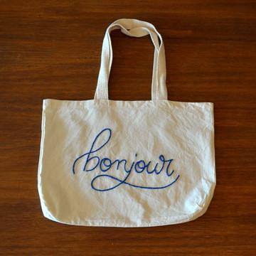 Bolsa Bordada Bonjour