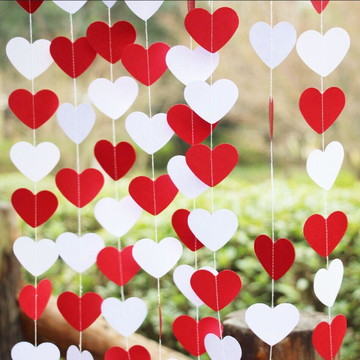 Cortina de coração