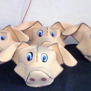 chapéu porco