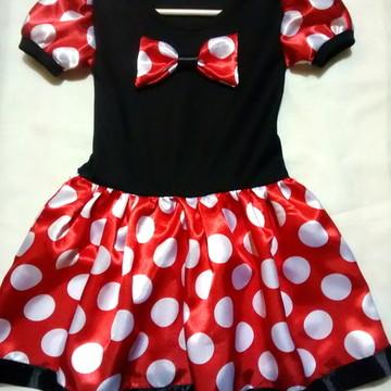 Vestido/Fantasia Minnie Clássico