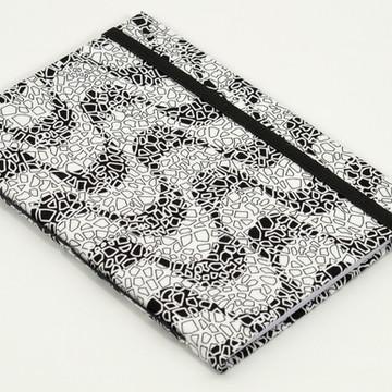 Caderno A6 com capa em tecido - Rio