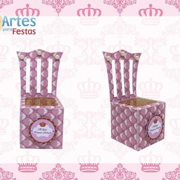 Caixa Trono Realeza Menina