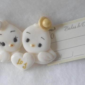 Lembrancinha bodas de ouro