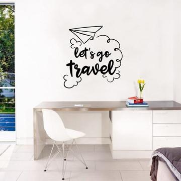 Adesivo Let's go Travel