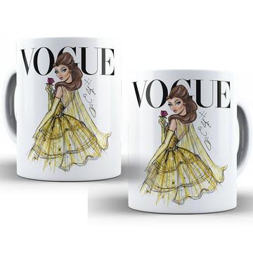 Caneca Vogue Princesas Disney Bela