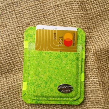 Carteira Mágica Fucsion Verde