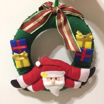 Guirlanda Papai Noel e Presentes
