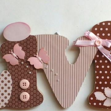 Livia marrom rosa porta maternidade