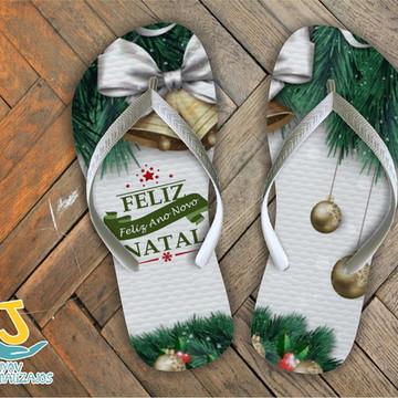 SANDÁLIA DE NATAL - FELIZ NATAL