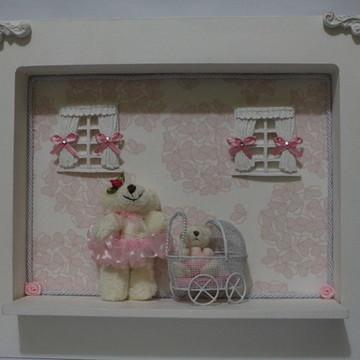 Porta de Maternidade Rosa