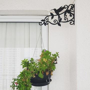 1 Suporte de parede p/ vasos e plantas 1