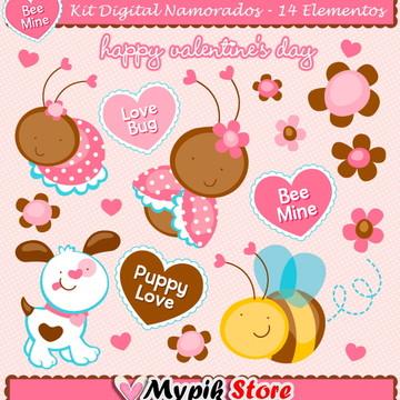 Kit Digital Jardim Namorados Coleção 04