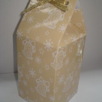 Caixa milk ESTAMPA NATALINA