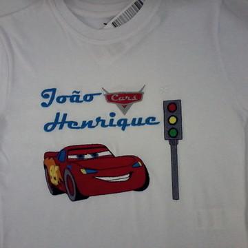 Camiseta Lightning McQueen