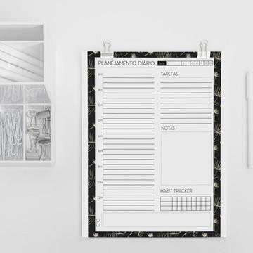 Planner diário coleção minimalista dandelion - A5