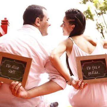 Quadrinho para fotos Pré wedding MDF (unidade)