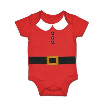 Body p/ Bebê Mamãe Noel