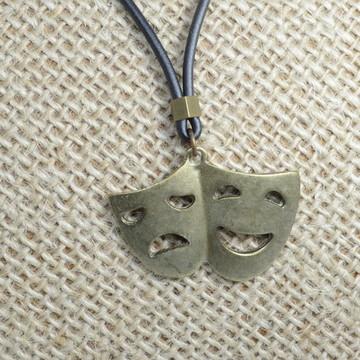 Colar Máscara Teatro