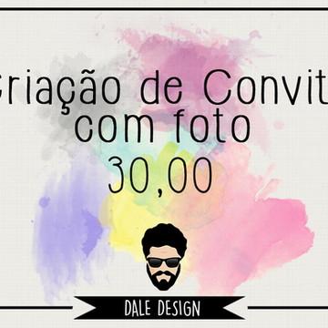 CRIAÇÃO DE CONVITE COM FOTO