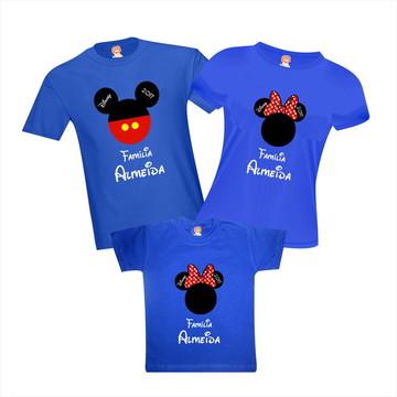 Camiseta Viagem Disney
