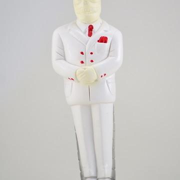 Imagem Exu Lord Da Morte escultura 100% em gesso