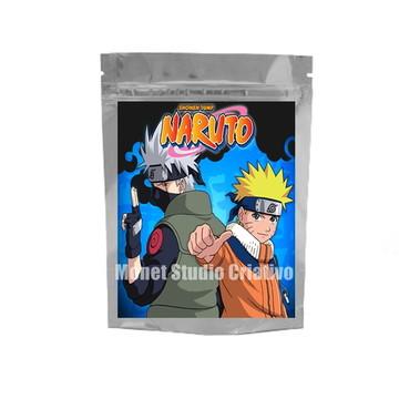 Saquinho Metalizado - Naruto