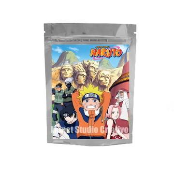 Saquinho Metalizado - Naruto 2