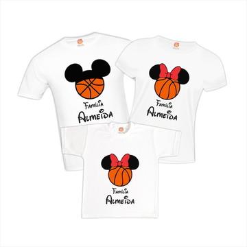 Camiseta Viagem Disney Basquete