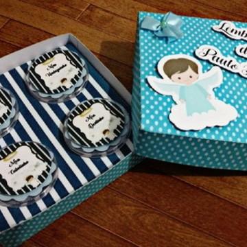 Caixa Lembranças ou Recordações do Bebê