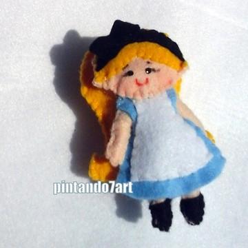 Alice no pais das maravilhas - Lembrancinha