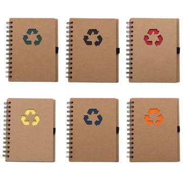 Caderno e Caderneta ecológico