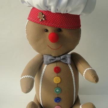 Boneco Gingerbread em Feltro