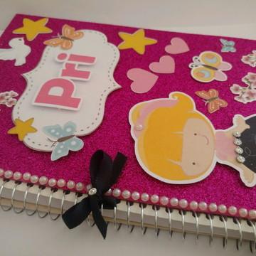 Caderno em Scrap