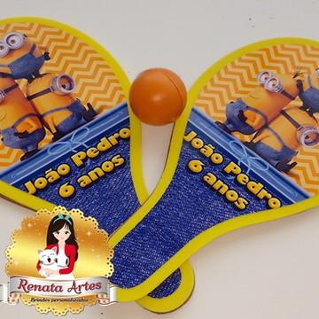 Raquetes de ping pong Minions