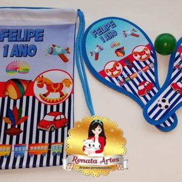 Mochila de ping pong brinquedos