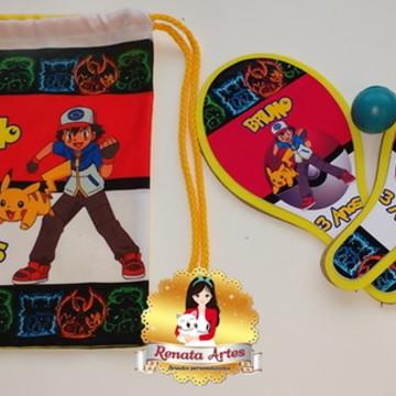 Mochila de ping pong Pokemon