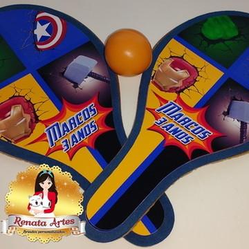 Raquetes de ping pong Vingadores