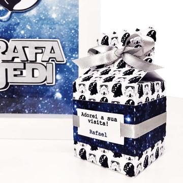 Caixa lembrança Maternidade Star Wars