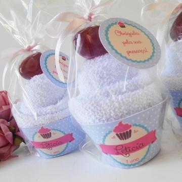 Cupcake toalha Patisserie