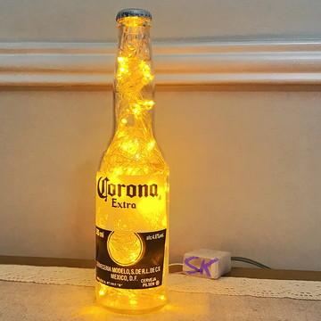 Luminária de garrafa Corona Extra