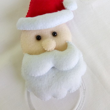 Porta Pano de Prato em Feltro - Natal