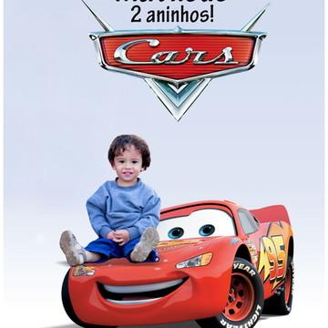 Banner festa Carros