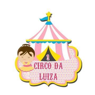 Painel de aniversário - circo,