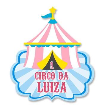 Painel de aniversário - circo